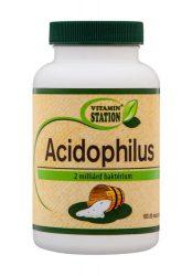 Vitamin Station Acidophilus Tabletta 100db