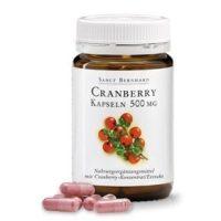 Sanct Bernhard Tőzegáfonya 500 mg 90 db kapszula