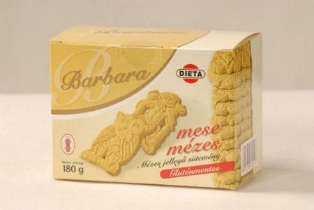 Barbara gluténmentes mese mézes 180g