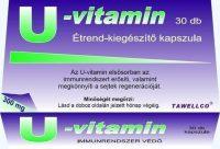 Tawellco U-vitamin 300mg kapszula 30db