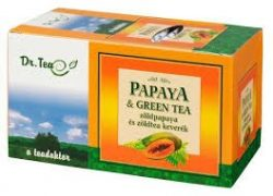 Dr.tea papaya+zöldtea filteres 20db