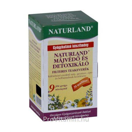 Naturland Májvédő filteres tea 25x1,5g