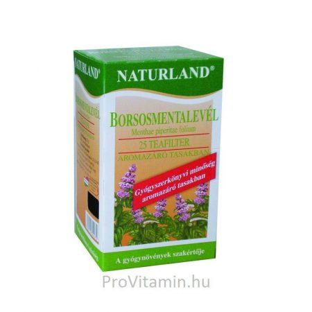 Naturland Borsmenta tea, filteres 25x1g