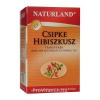 Naturland Csipke-Hibiszkusz Teakeverék, filteres 20db