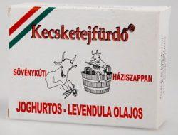 Kecsketejszappan joghurtos-levendula olajos 100g