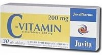 Jutavit c-vitamin 200mg tabletta 30db