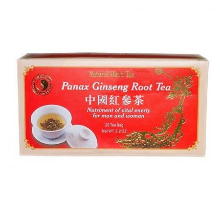 Dr. Chen Panax Ginseng Tea Filteres