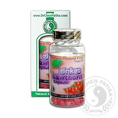 Dr. Chen Ginkgo+Galagonya+C Vitamin kapszula 100db
