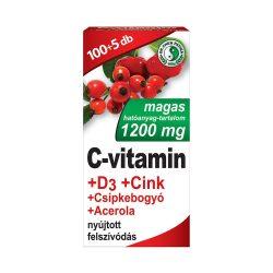 Dr. Chen C Vitamin Tabletta 40db Csipkebogyó Kivonat