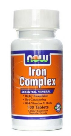 Now iron complex tabletta 100db