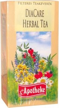 Apotheke tea diacare herbal filteres 20db
