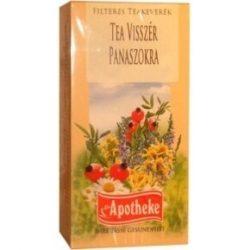 Apotheke teakeverék visszér panaszokra filteres 20db