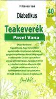 Pavel Vana teakeverék diabetikus filteres 40db