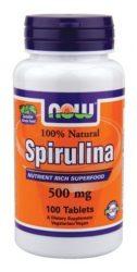 Now spirulina tabletta 100db