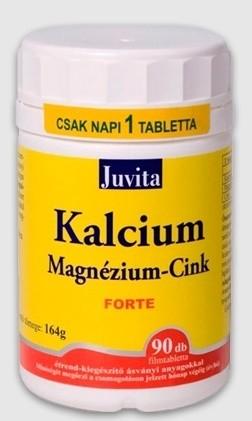 Jutavit kálcium-magnézium-cink forte tabletta 90db