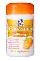 1x1 Vitaday rágótabletta c-vitamin 500mg 60db