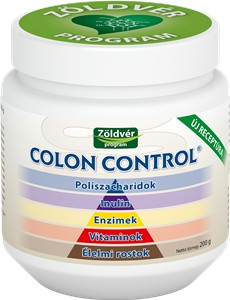 Zöldvér colon control 200g