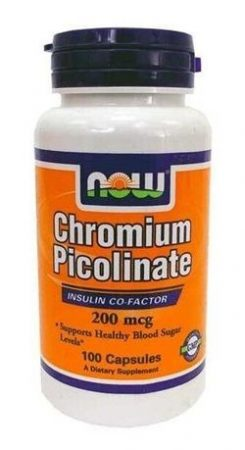 Now chromium piccolinate kapszula 100db
