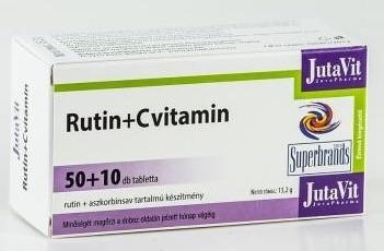 Jutavit rutin + c-vitamin tabletta 60db