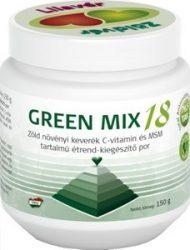Zöldvér green mix 18 zöld növényi keverék c-vitaminnal + msm por 150g