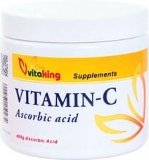Vitaking C-vitamin por (aszkorbinsav) 400gr+D-2000 vitamin csomag