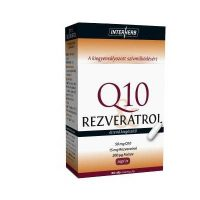Interherb Q10 és Rezveratrol kapszula 30db