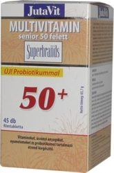 Jutavit multivitamin senior 50+ tabletta 45db