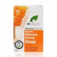 Dr.organic szappan manuka mézes 100g