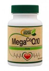 Vitamin Station CoQ10, Mega 50 mg 60 db