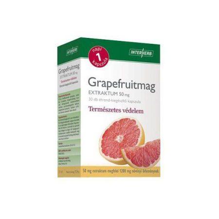 Interherb Napi 1 GRAPEFRUITMAG Extraktum 50mg 30db