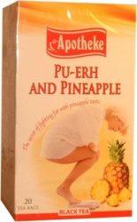 Apotheke tea ananász ízű fűszeres pu-erh filteres 20db