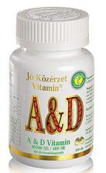 Jó közérzet a és d-vitamin kapszula 100db