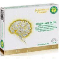 Jó közérzet magnézium és b6 tabletta 30db