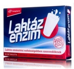 Innopharm laktáz enzim 4500 fccu tápszer 60db