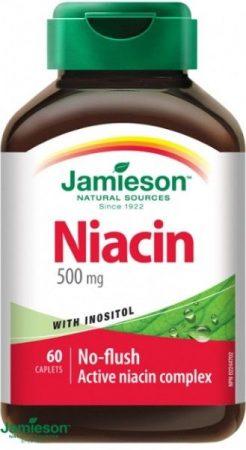 Jamieson niacin tartalmú tabletta inozittal 60db