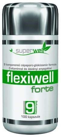 Superwell flexiwell forte kapszula 100db