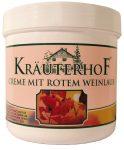 Kräuterhof piros szőlőlevél krém 250ml