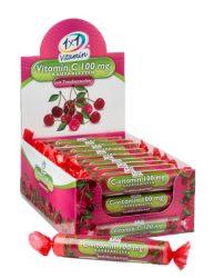 1x1 Vitaday rágótabletta c vitamin cseresznyés 100mg 17db