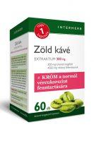 Interherb XXL zöld kávé és fahéj tabletta 90db