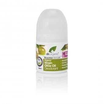 Dr.organic golyós dezodor bio szűz olivaolajjal 50ml