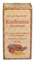 Garuda Ayurveda Kurkuma vegetáriánus kapszula 60db