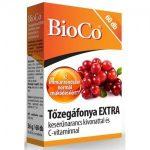 Bioco tőzegáfonya extra tabletta c-vitaminnal 60db