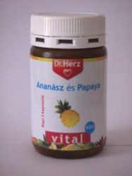 Dr. Herz Ananász Papaya kapszula 60 db