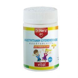 Dr. Herz gyerek multivitamin + lactobacillus tabletta 60db