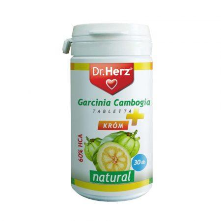 A Dr.Herz Garcinia tabletta alkalmazása javasolt a testsúly-csökkentés eléréséhez.