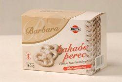 Barbara gluténmentes kakaós perec 180g
