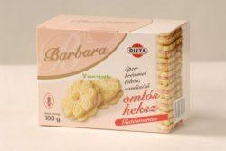 Barbara gluténmentes omlós keksz, eper ízű 180g