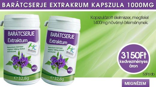 Medicura Barátcserje kapszula 60db