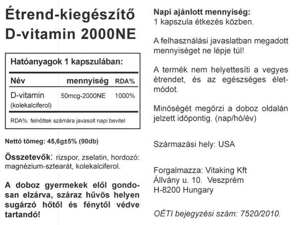D-vitamin (Vitaking)