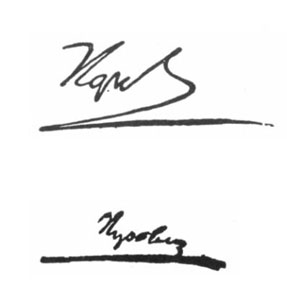 Napóleon kézírása